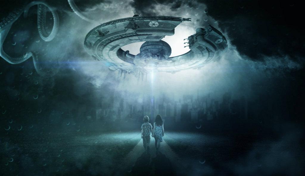 UFOと少年少女