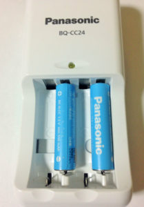 単4を2本充電