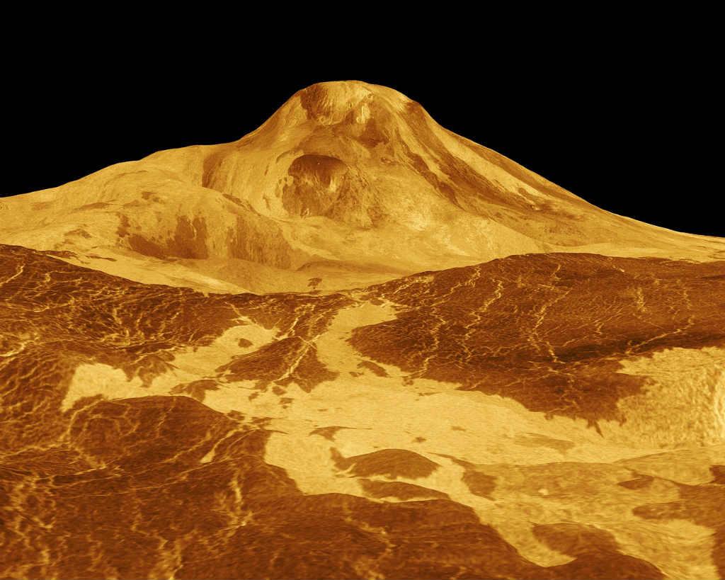 金星の地上