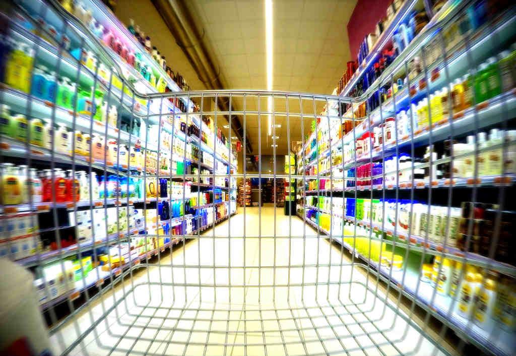 スーパーの風景
