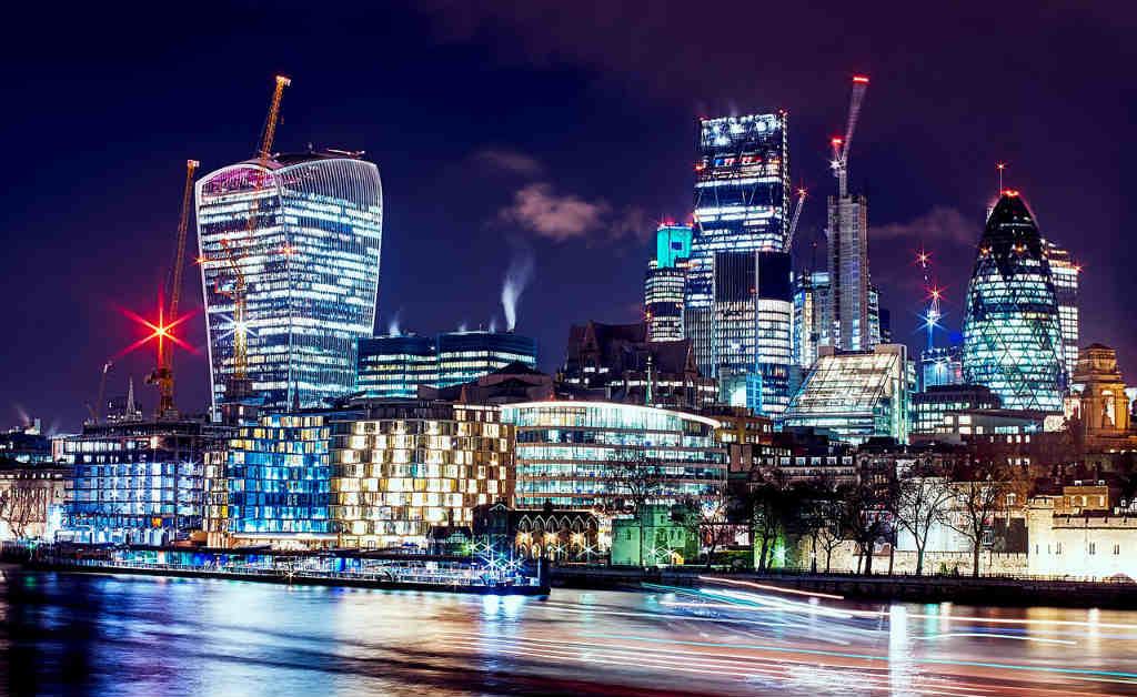 イギリスの都会