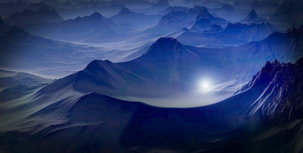 未知の惑星