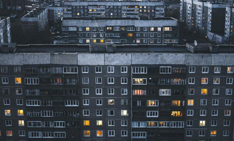 ロシアの住居
