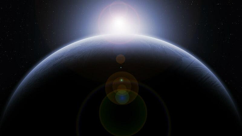 惑星と太陽