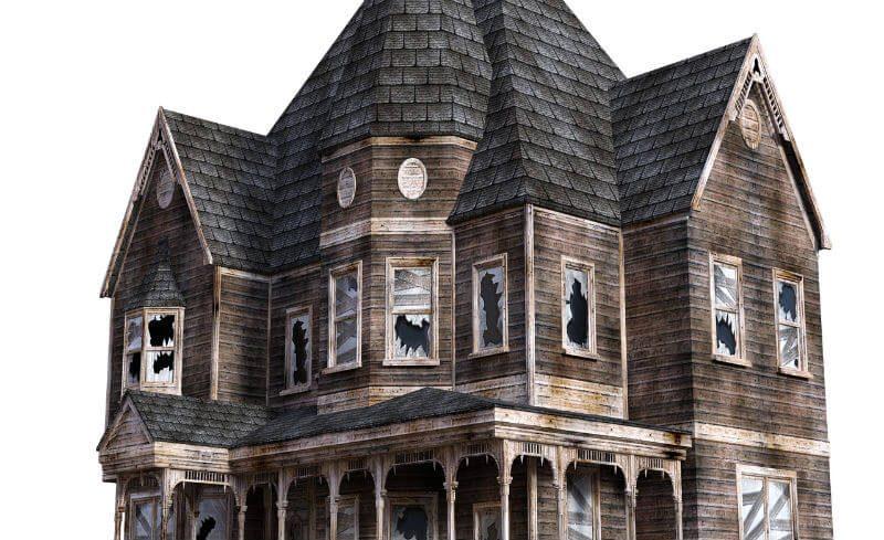 不気味な屋敷