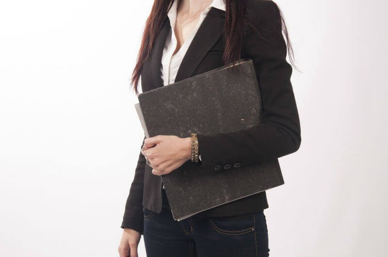 秘書の女性