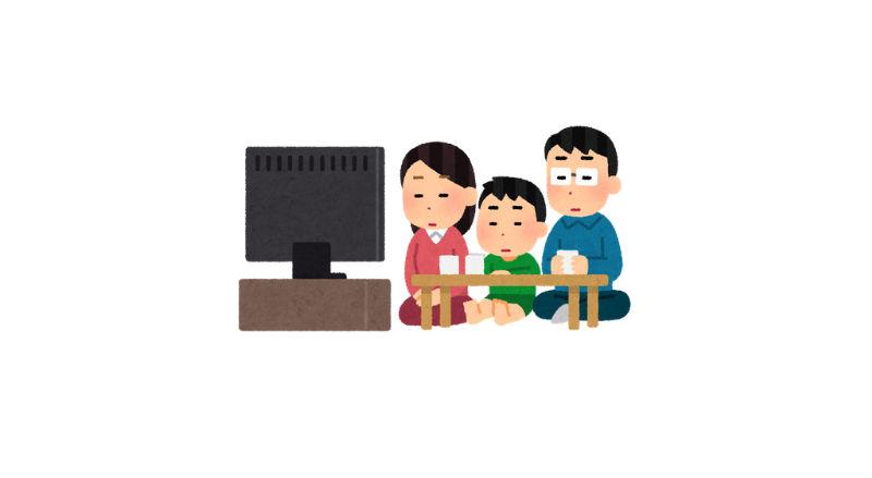 無表情の家族