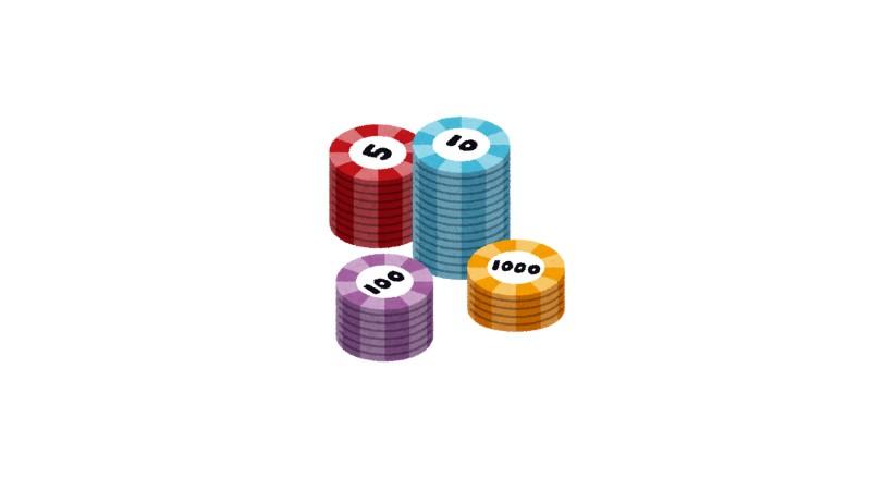 ギャンブルで使うコイン